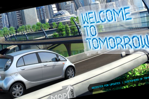iMiEV Welcome to Tomorrow